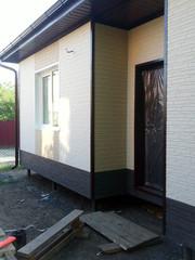 Облицовка и утепление фасадов в Молодечно. Отделка фасада дома