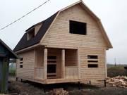 Дома из бруса сруб Эмиль 6 × 8,  доставка-установка Молодечно