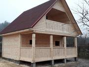 Дом-Баня из бруса готовые срубы с установкой-10 дней недорого Молодечно
