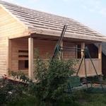 Сруб Бани(брус) Ирина 6×4 установка в Молодечно