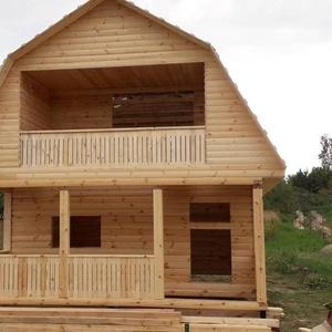 Садовый Дом из бруса Артем 6х6 сруб с установкой в Минской области