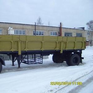 Продаем полуприцеп ОДАЗ 9357 одноосный бортовой в отл. состоянии
