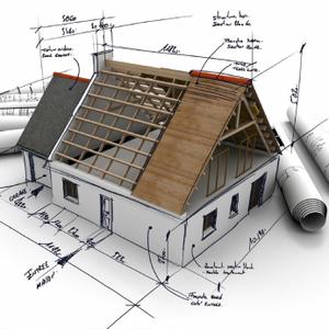 Проект для строительства дома,  коттеджа,  бани