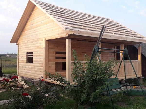 Строительство Бань,  срубов,  летних домиков 7