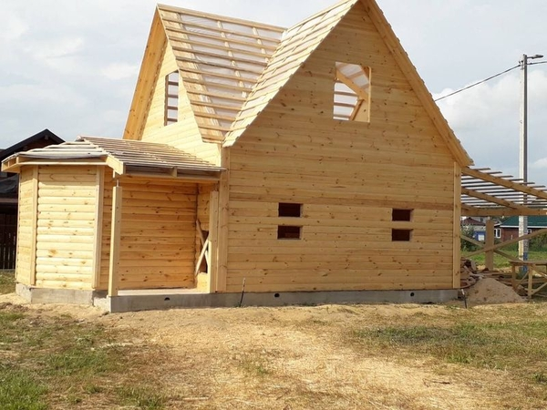 Строим Дома за 10 дней недорого. Ровные руки 100% 5