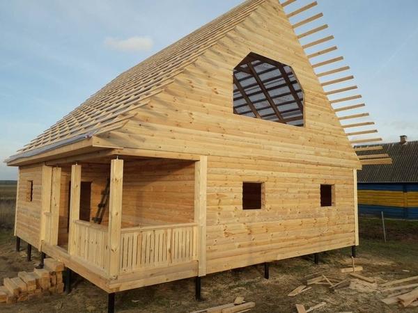 Строим Дома за 10 дней недорого. Ровные руки 100% 8