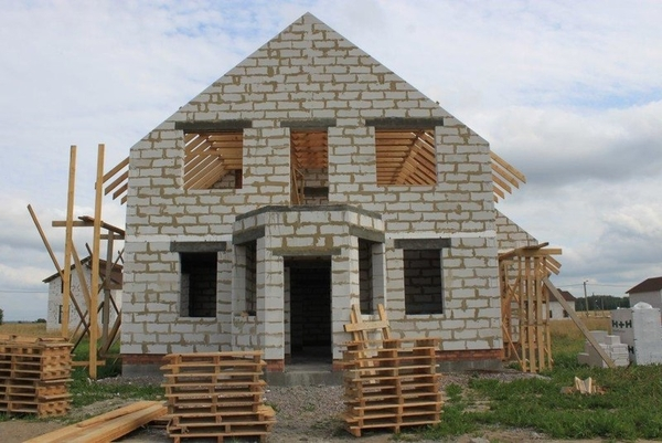 Фундамент,  Подьем Домов,  Строим дома под ключ в Молодечно 5
