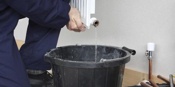 Промывка системы отопления гидропневматическая 2