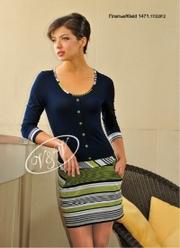 Трикотажное платье,  эксклюзивно для РБ.