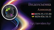 Видеосъемка Full-HD качества на VDSLR.