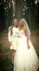 свадебное платье,  150 уе.